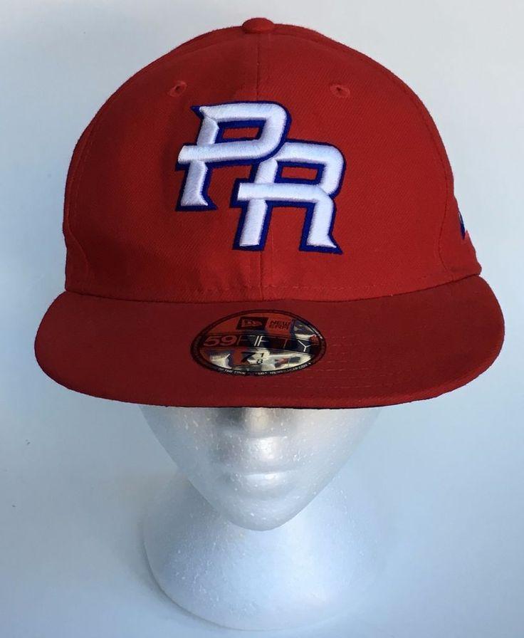 New Era 59Fifty Puerto Rico PR World Baseball Classic Baseball Hat PR Flag NWT #59Fifty #BaseballCap #PuertoRico