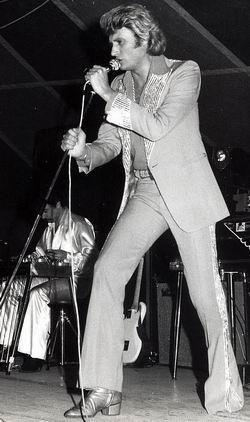 photo concert à nice de johnny   Tenues de scène de Johnny Hallyday — Tournée 77 (Johnny Hallyday ...