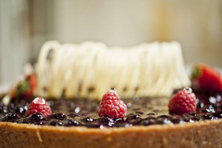 How divine does this cheesecake at Park Hyatt Saigon look?