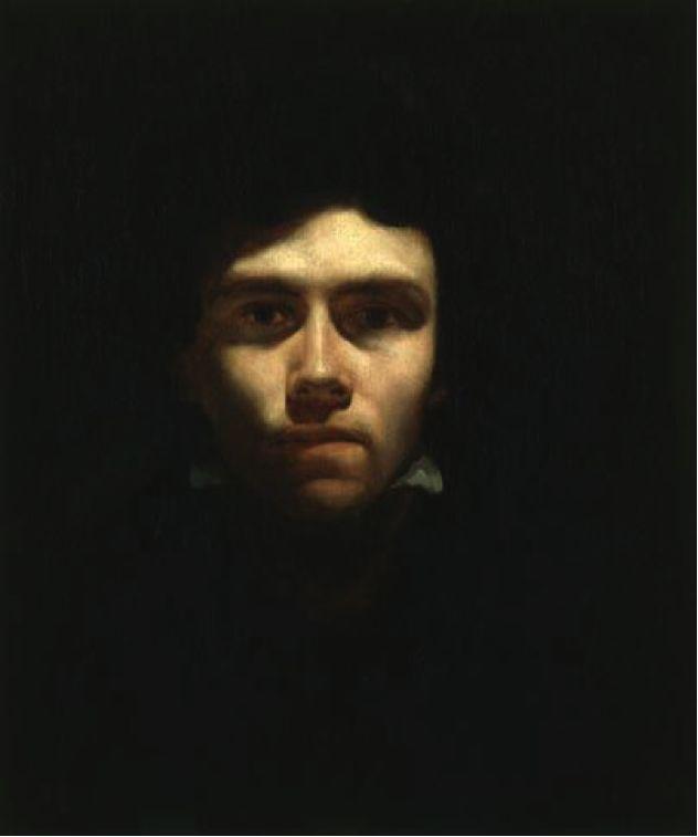 Self Portrait by Delacroix - Romanticism (unadocenade)