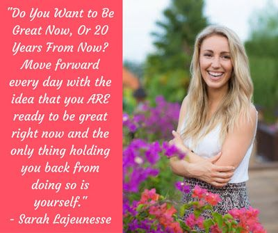Inspiring People: Sarah Lajeunesse, Lifestyle and Wellness Coach This is one of the most inspiring interview I've ever read. I hope you enjoy Sarah's words of wisdom as much as I did... #InspiringPeople #interviews