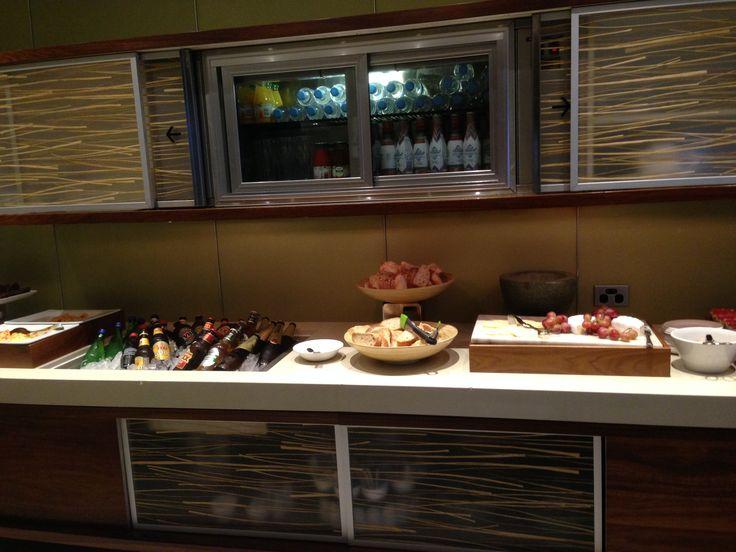 Executive Lounge at the Hilton Brisbane Hotel