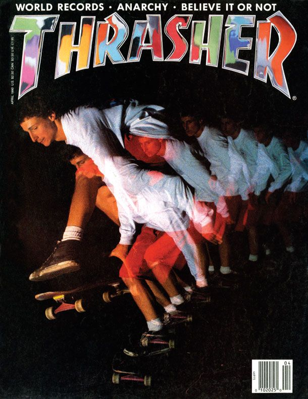 Thrasher Magazine - April 1990