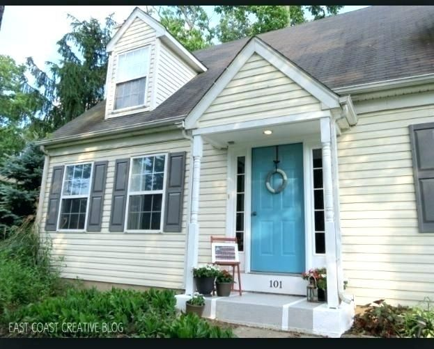 Yellow House With Shutters What Color Shutters On A Yellow House Grey Shutter Pale Yellow House Lands Exterior Door Colors Yellow House Exterior House Shutters