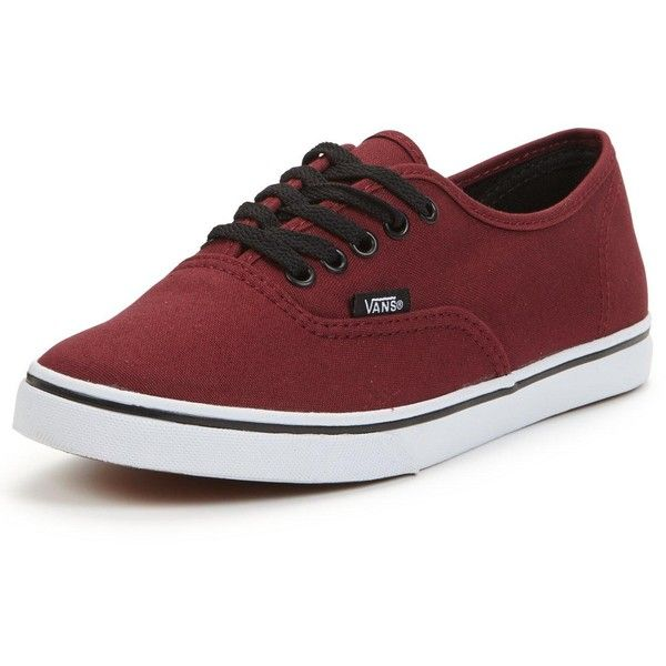 Vans Vans 'Authentic Lo Pro ($61) ❤ liked on Polyvore featuring shoes, sneakers, vans shoes, vans trainers, vans footwear, vans sneakers and fleece-lined shoes