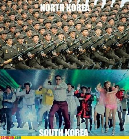 gangnam styleGangnam Style, Southkorea, North Korea, Northkorea, Gangam Style, Korean War, So Funny, True Stories, South Korea