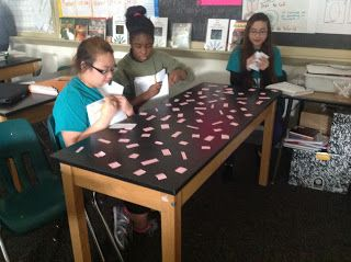 Predator/Prey simulation activity. This is a fun game to show how if the predators and prey depend on each other.
