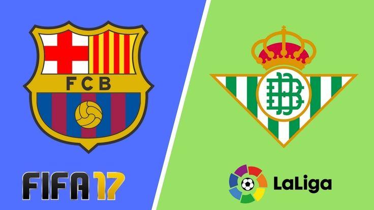 Barcelona vs Real Betis FIFA 17 La Liga 2017/2018 Preview Matchplay   Ba...