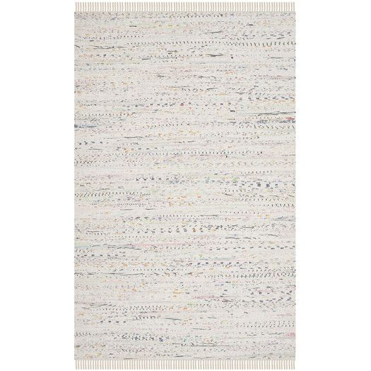 Found it at AllModern - Cantina Way White Area Rug