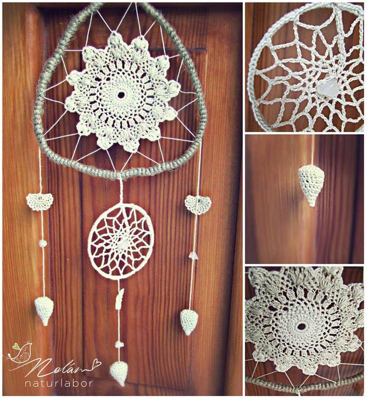#dreamcatcher, #lace, #handmade, #fragrance, #lavender filled, #rosequartz #natural #organic