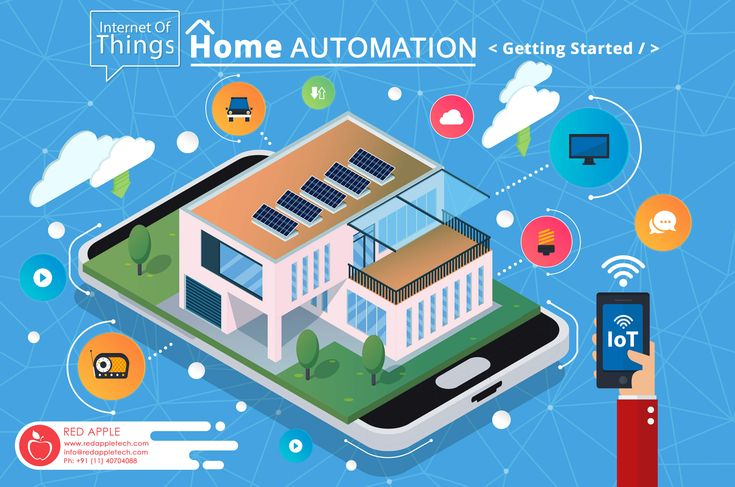 With IoT home automation you are less worried about home security. You can control the security of your home with your phone.