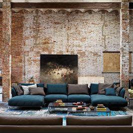 Rolf Benz Milan Scala Sofa / Like us on Facebook!    Rolf Benz Studio Boston