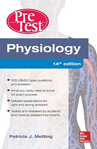 Physiology PreTest Self-Assessment and Review 14/E by Pat...