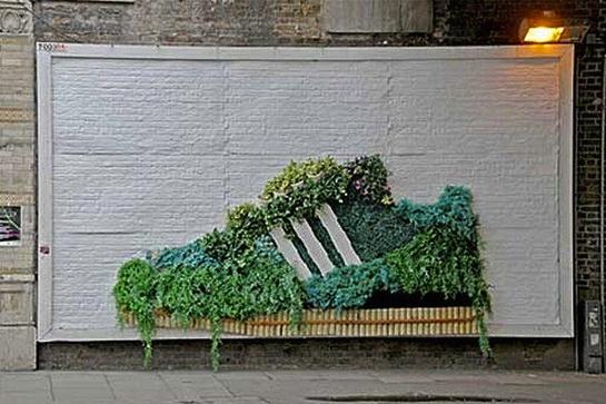 adidas Samba Garden Billboard