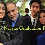 Star kids Aryan Khan and Navya Nanda are finally graduated