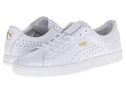 puma shoes classic white