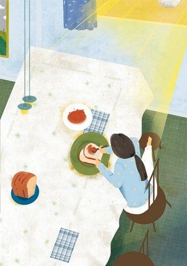 Illustration_Sinhye Lee 'The taste of others' series