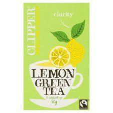 Clipper Green Tea With Lemon 26 Tea Bags 50g