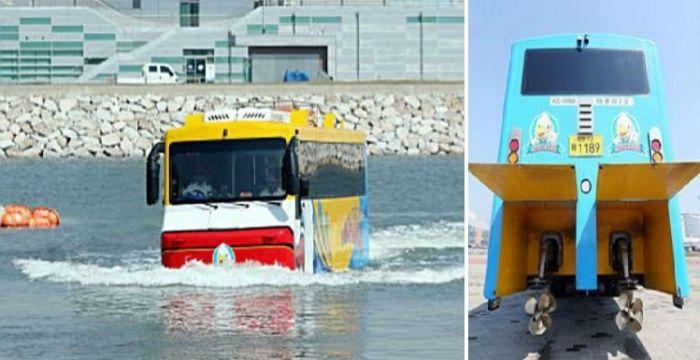 Αντιγραφάκιας: Τα αμφίβια λεωφορεία της Κορέας [Εικόνες]