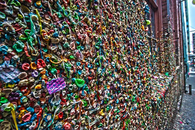 """Seattle Gum Wall"" Pike Place Market, Keith-Chan"