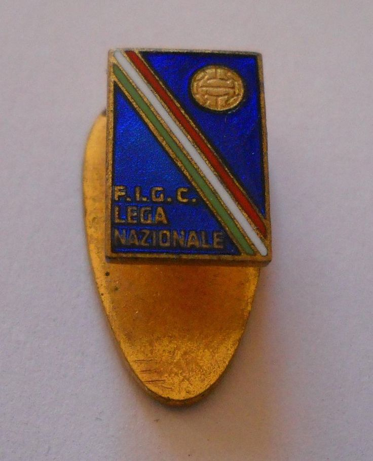 calcio   distintivo FIGC- Lega nazionale Johnson  pin  badge football soccer