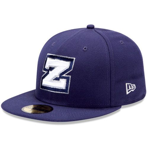 New Orleans Zephyrs Authentic Home Fitted Cap - Miami MiLB