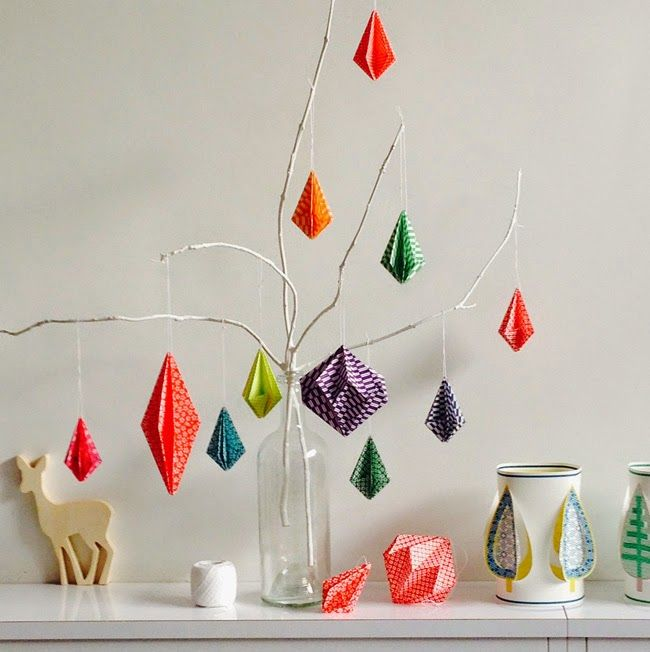 origami wall hanging instructions