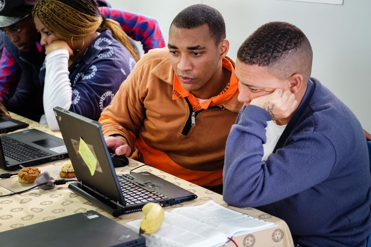 Brothers For All // Is Coding the Answer to Staying out of Prison?  Photo: Lauren Rautenbach