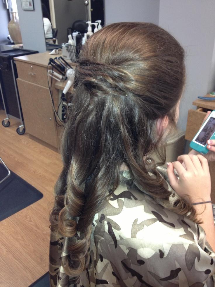 hair splash design