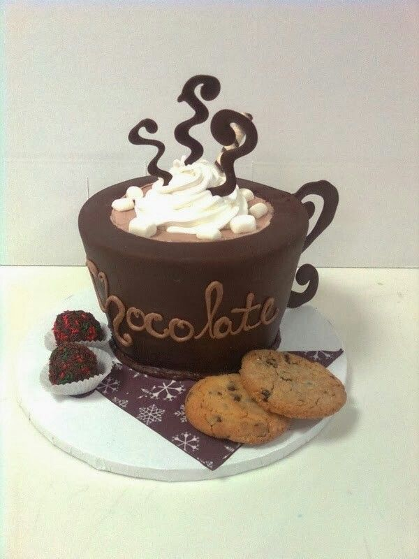 Now that's hot chocolate.