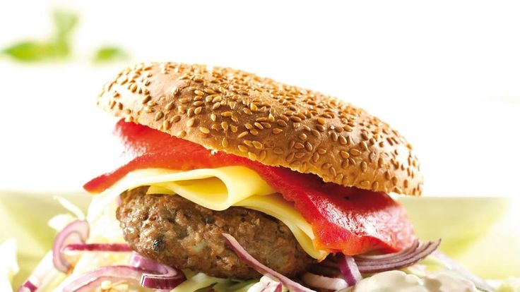 Oppskrift på Hamburgerbrød