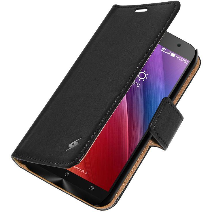 Amzer® Flip Case™ - Black for Asus Zenfone 2