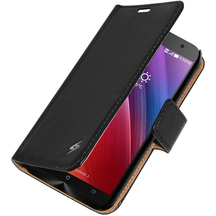 Amzer® Flip Case™ - Black for Asus Zenfone 2