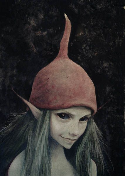 faeryhearts:    [Artwork by Brian Froud.]
