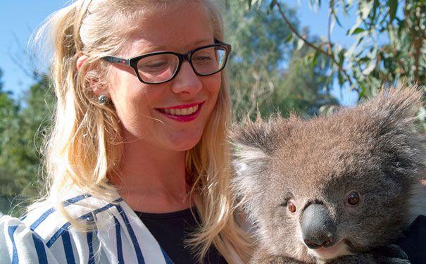 Career profile of a Marketing Coordinator - Meet Carla Sheridan from Zoo's Victoria.