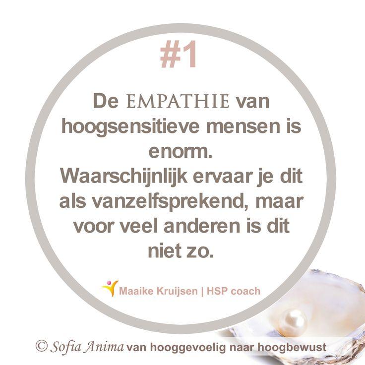 Voordelen van hoogsensitief zijn | #1 empathie #hsp #hooggevoelig #hoogsensitief #hspcoach