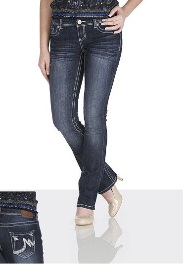 These are the ones I REALLLLY want! $29, size 17/18 long or regular  :) Ellie Dark Wash Jeans