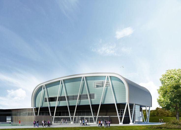 Sports facilities Montessori College Oost - AHH