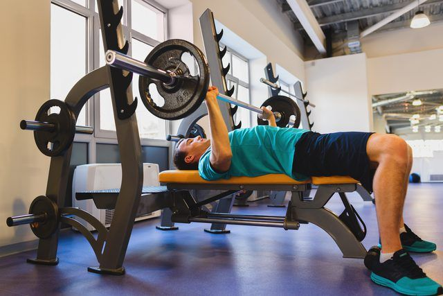 Alternative Exercises For Bench Pressing Livestrong Com In 2020 Bench Press Weight Benches Strength