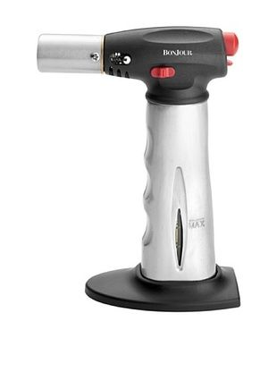 44% OFF BonJour Brushed Aluminum Chef's Torch with Fuel Gauge