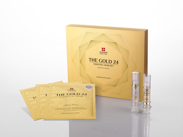 INSOLUTION The Gold 24 Essential Mask Set