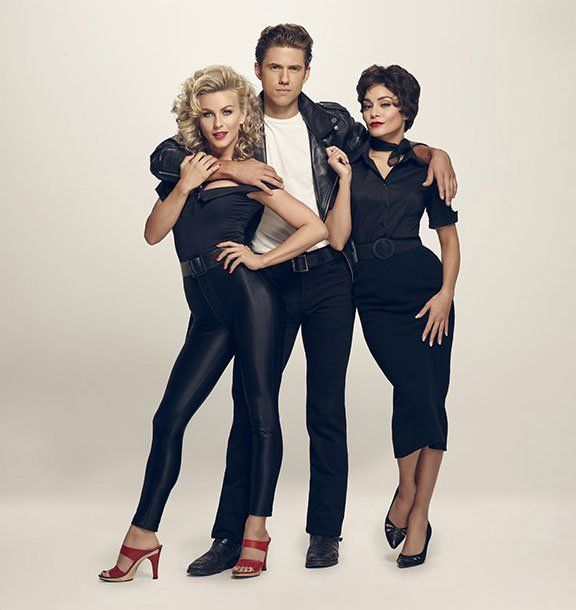 Over 50 Fabulous Pop Culture Halloween Costume Ideas For Groups Sandy, Danny, and Rizzo From Grease