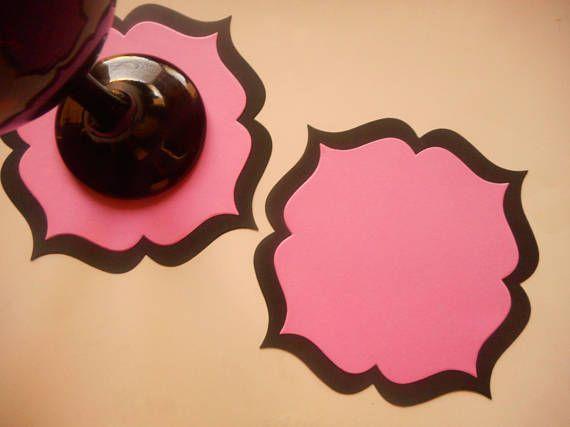 Paper Coasters, Paper Doilies,Die Cut Circle, Scrapbook Die Cut, Scrapbooking Die Cut, Paper Die Cut