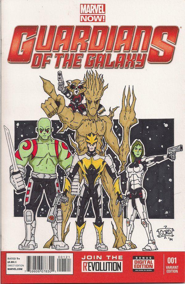 Guardians of the Galaxy Blank Variant by gordzilla1971.deviantart.com on @DeviantArt