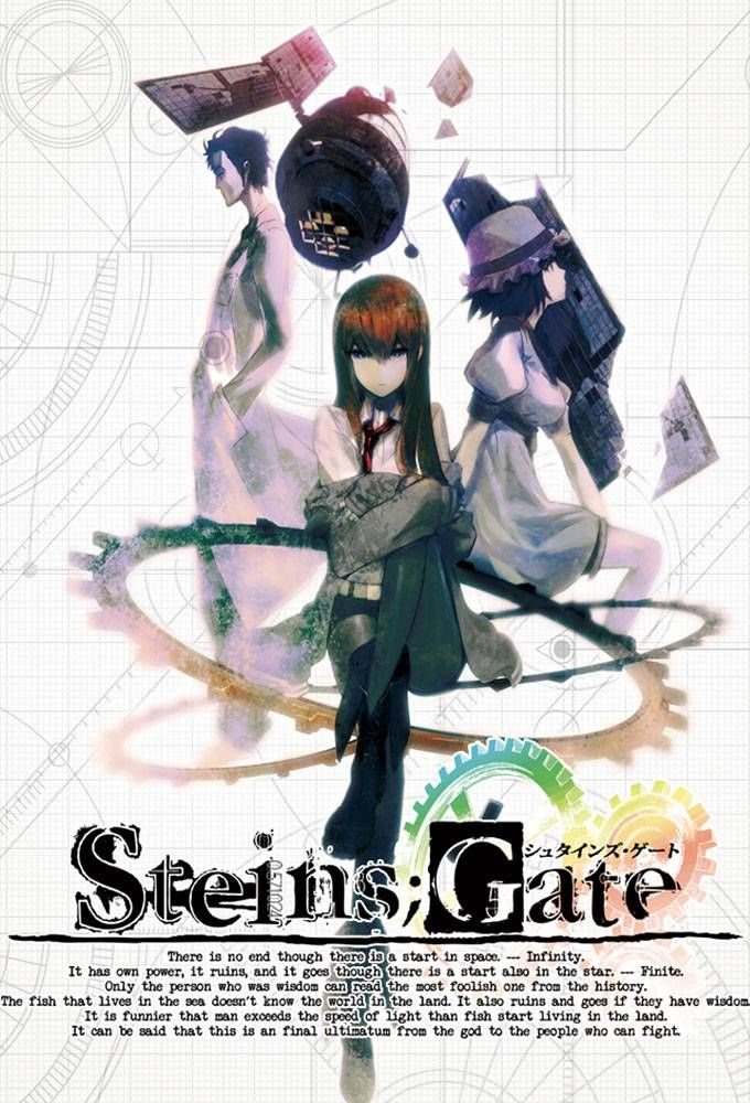 steins gate poster - Google Search