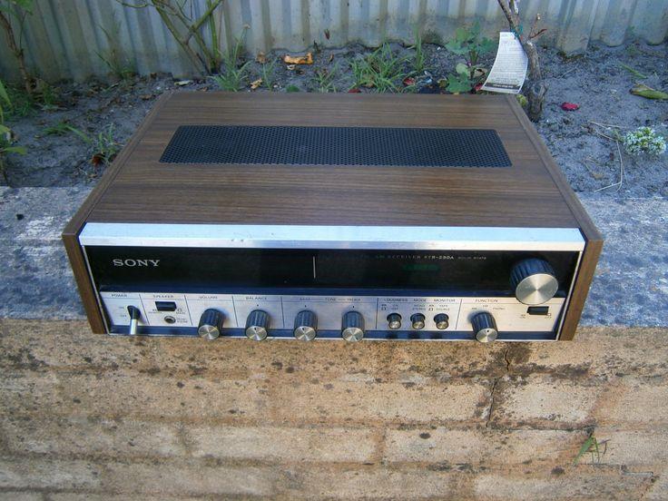 Vintage Sony Receiver Amplifier STR-230A ( Japan) | eBay