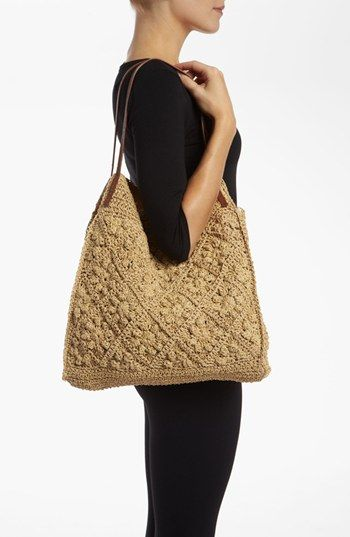 Straw Studios Crochet bag