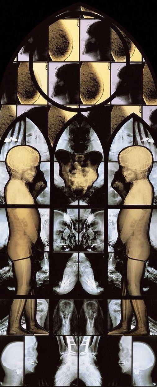 March by Wim Delvoye (2001)