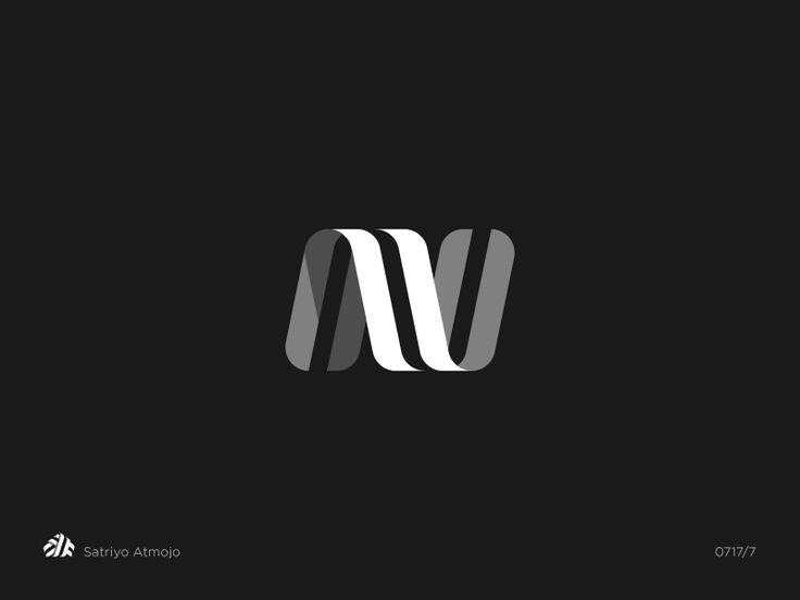 N by Satriyo Atmojo  #logo #logos #logodesign #design #monogram