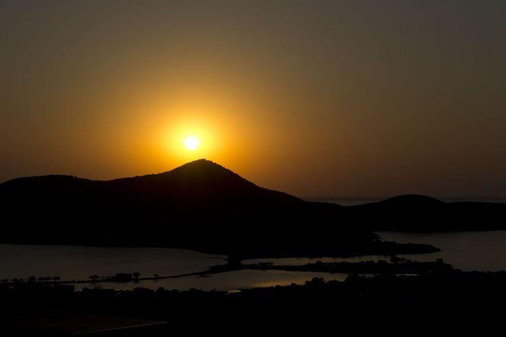 Sunrise elounda spinalonga